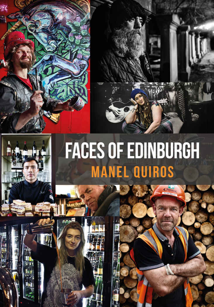 Faces of Edinburgh Book Cover | Manel Quiros Photography